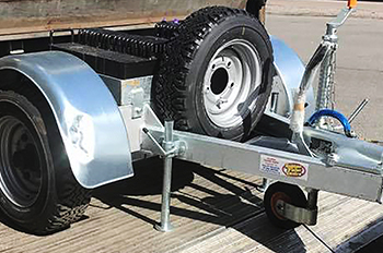 Tail Lift Weight Testing